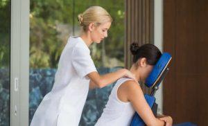 massage douleur lombaire